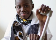 Help a disabled child receive medical help.  Children with disabilities are especially at risk in countries of high poverty where they may not be receiving any healthcare services.