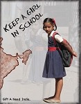 Keep a girl in school