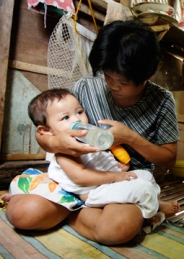 What is the greatest cause of death among children 5 and under?  Malnutrition.  Feed a baby and a mother for one month for $14.
